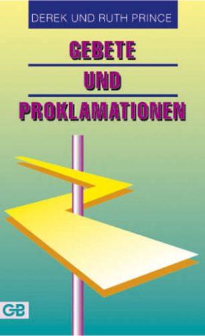 Cover Gebete und Proklamationen