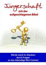 Cover Jüngerschaft mit der aufgeschlagenen Bibel
