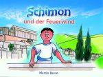 Cover Schimon und der Feuerwind - mit Ansteck-Button