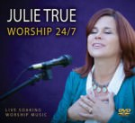 Cover DVD Worship 27/7 - Julie True