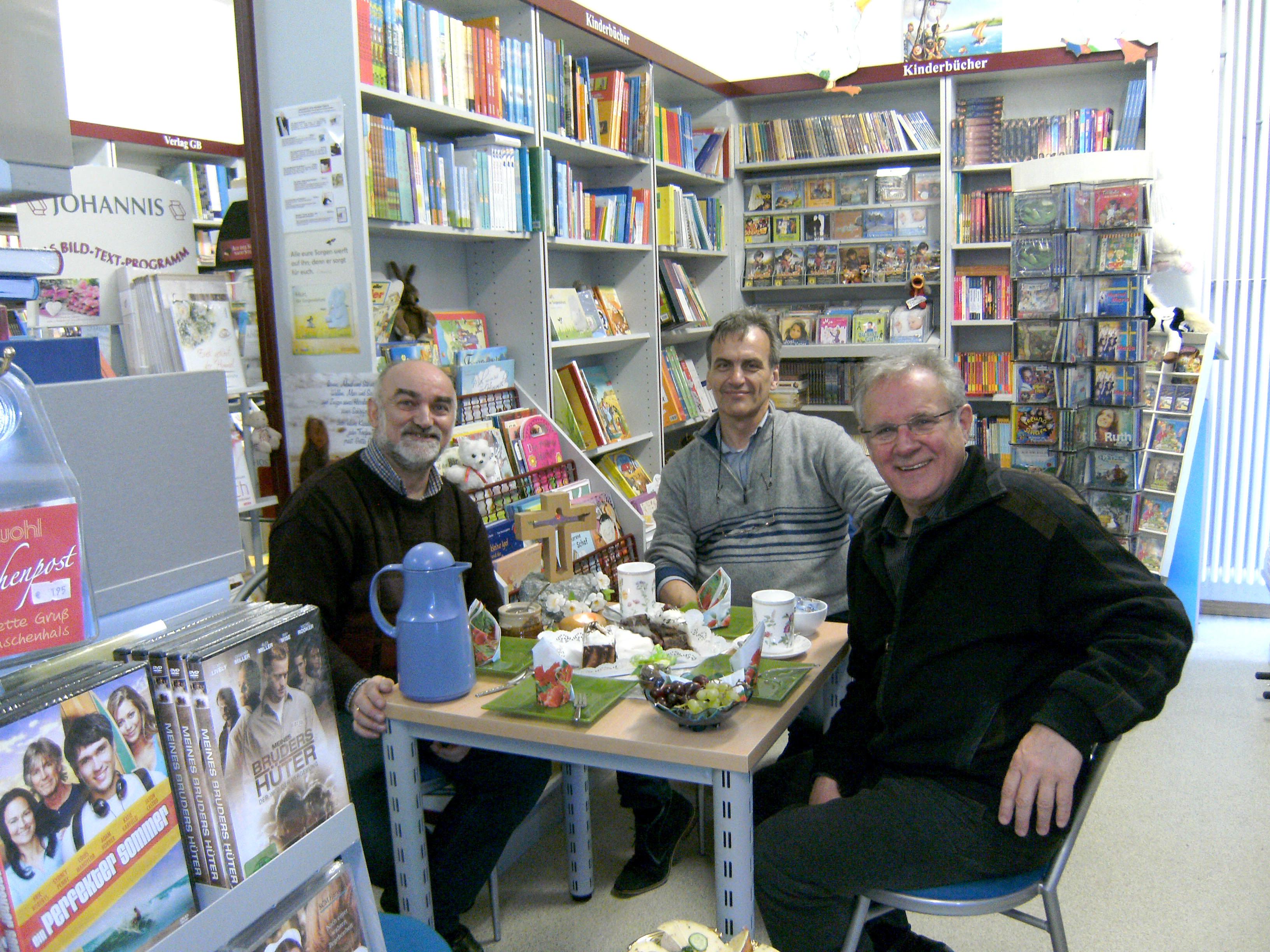 Jeff Fountain zu Besuch in der Christlichen Bücherstube