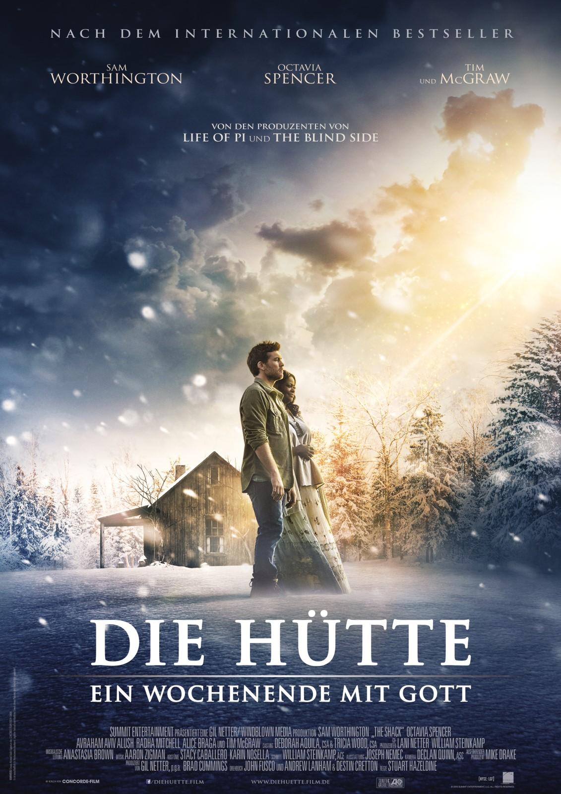 Die Hütte - Ein Wochenende mit Gott (DVD) - Verlag