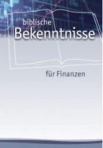 Cover Biblische Bekenntnisse für Finanzen