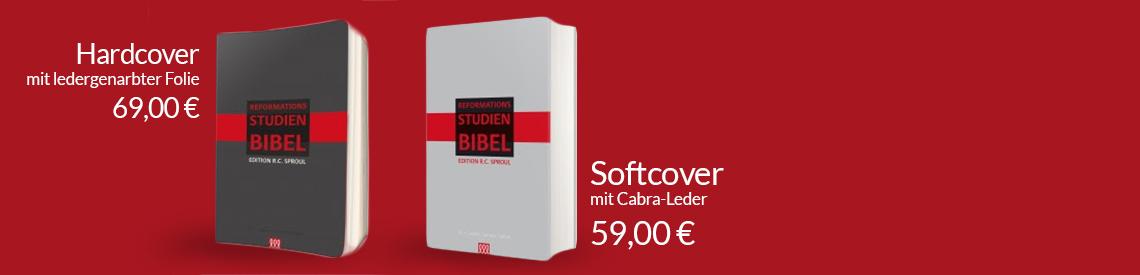 Die Reformations-Studien-Bibel zum 500. Reformationsjubiläum